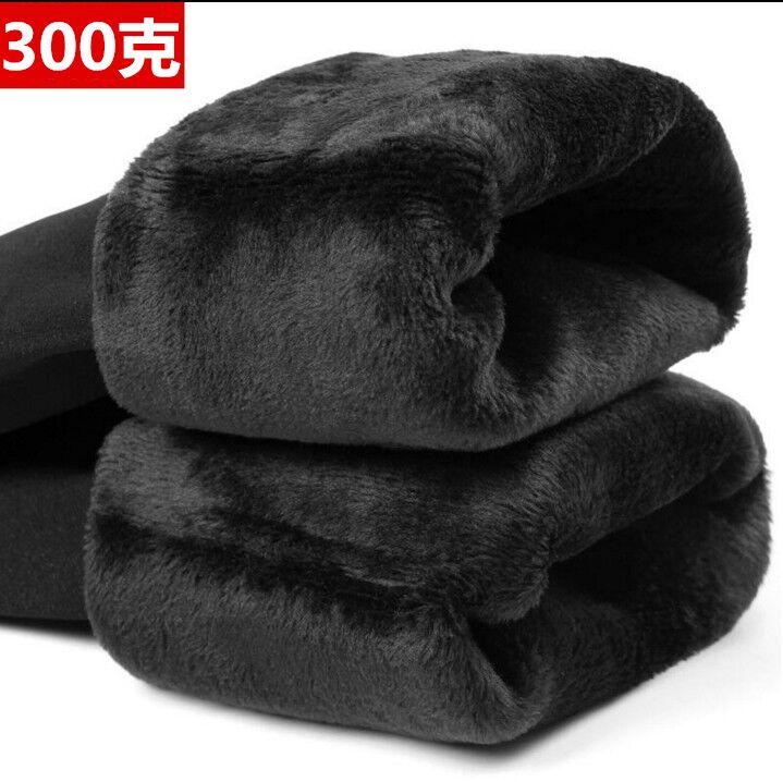 秋冬灰色保暖裤
