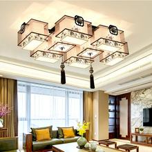 中式吸顶灯中国风客厅灯具大气仿古典茶馆茶庄灯画室餐厅卧室灯饰