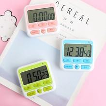 电子计时器 厨房 闪灯电子定时器开关厨房计时器闹钟厨房提醒器