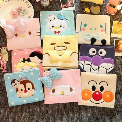 韩国日系卡通卫生巾收纳包少女学生卫生棉包大号姨妈巾袋子月事包
