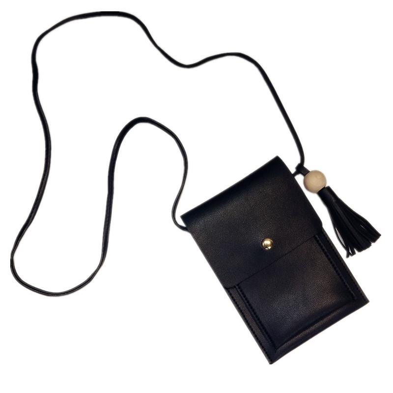 【天天特价】手机包女复古单肩斜挎包流苏球迷你小包零钱包手机袋