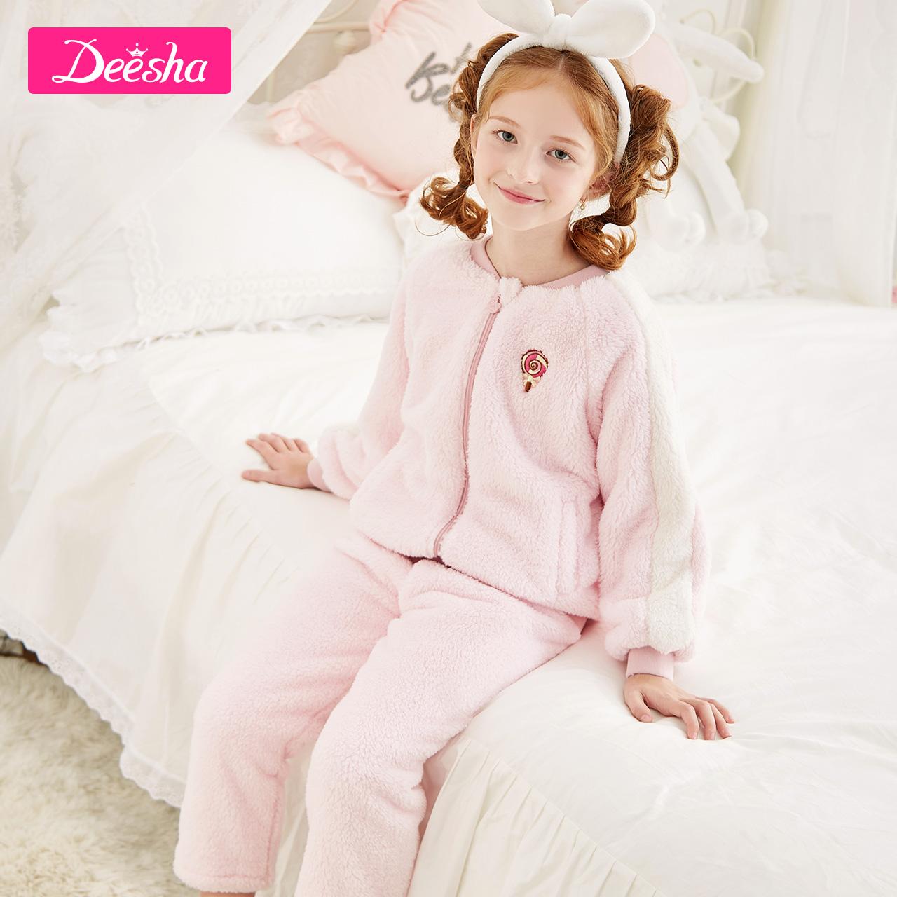 儿童棉绒睡衣