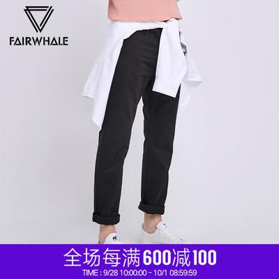 百搭棉质长裤