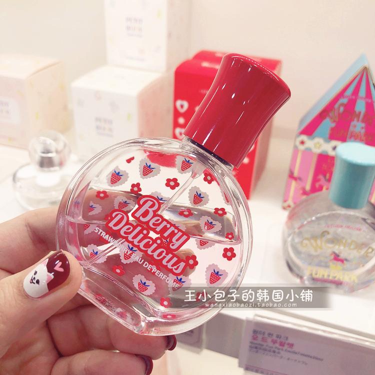 韩国爱丽小屋etude house 草莓系列 berry 甜美可爱草莓味香水