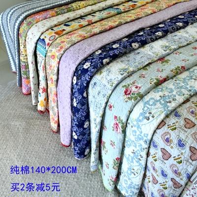纯棉床盖夹棉床单绗缝被微瑕疵空调毯夏凉被儿童爬垫1.2米/1.5米