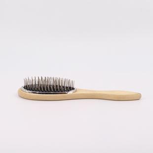 假发专用防静电钢梳子防毛燥宽齿气囊大钢梳假发护理打理工具配件