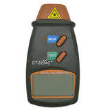 Digital tachometer contact tachometer motor fan speed 3 measuring instrument laser speed speedometer