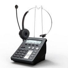 配话务耳机POE 深简捷AT800DP SIP话务盒VoIP呼叫中心话盒拨号器图片