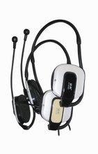 耳机脑后式电脑带麦后挂式有线耳麦台式笔记本耳挂游戏音乐挂耳式