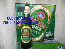 量大优青岛特产青岛原厂生产大瓶500ml青岛啤酒