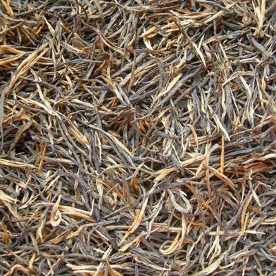滇红茶原料 云南红茶 经典58 一芽一叶松针红茶 银针直条茶叶