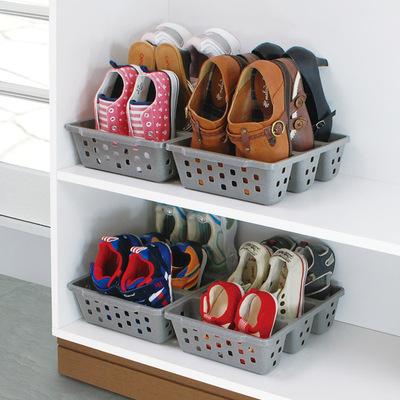 宿舍简易鞋子盒家用经济型收纳架 创意省空间鞋架大容量儿童鞋柜