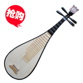 厂家直销 初学民族乐器儿童 硬木红木小琵琶成人琵琶练习琴赠配件