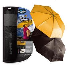 澳洲正品seatosummit轻量远足徒步雨具大雨伞户外多功能黑色