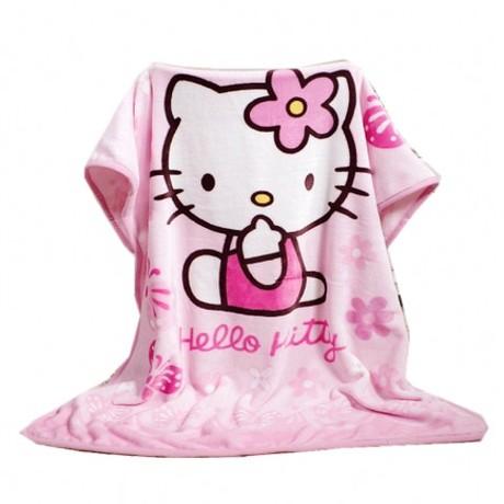 卡通法兰绒午睡毯子珊瑚绒小毛毯被子办公室空调午休盖毯儿童单人