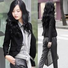 职业小西服外套 短款 2014春秋新款 显瘦长袖 修身 韩版 小西装 女装