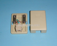 Copper telephone line junction box, telephone connection socket, telephone line connector telephone terminal junction box