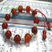 经文手穿珠串 伊斯兰教饰品 包邮 玛瑙串珠手链 穆斯林回民族用品