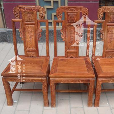 实木象头椅