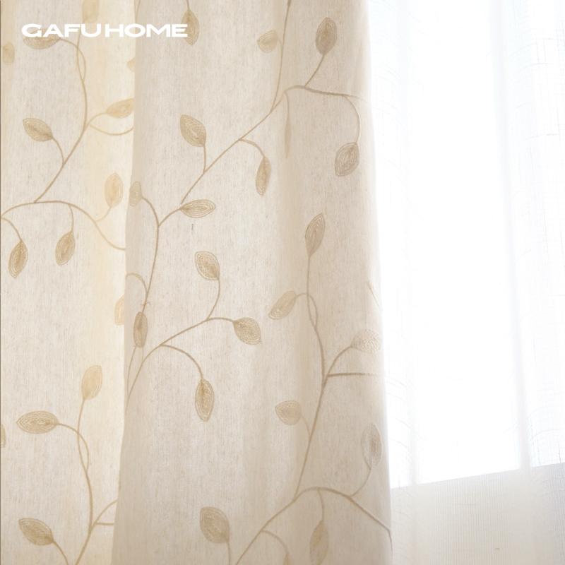 卧室棉布窗帘