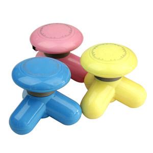 朗康USB迷你按摩器mini小型震动三角电动按摩颈部肩部家用按摩仪