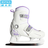 Decathlon children's skates winter skate shoes warm adjustable OXELO ISK