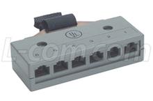 连接器 EC806M RJ45插口 COM RJ21图片