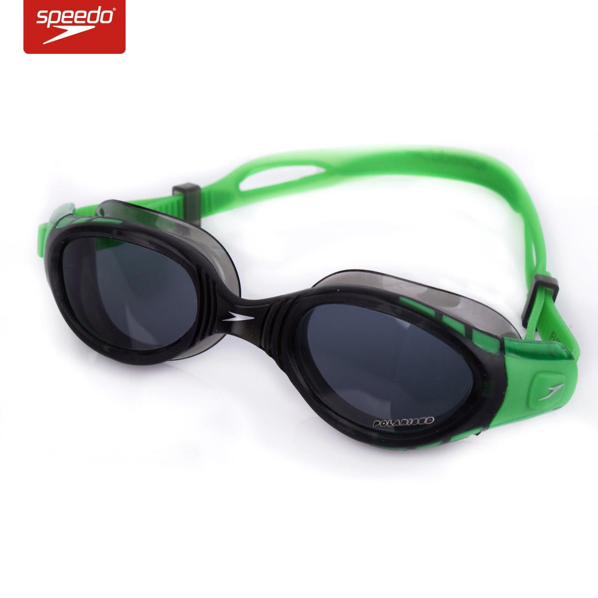 speedo专业训练泳镜大框防雾水舒适游泳眼镜男女士游泳眼睛313004