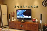 榆木电视机