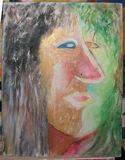 原创人物头肖像油画
