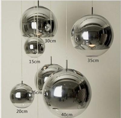 电镀球吊灯玻璃球吊灯电镀球圆球吊灯客厅餐厅吧台酒吧吊灯