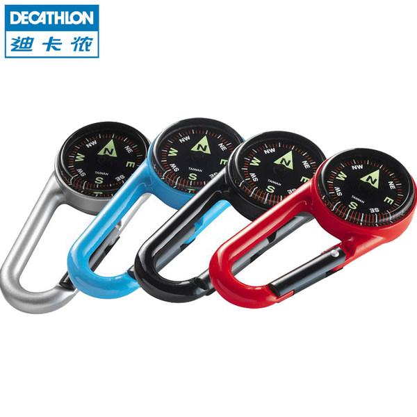 迪卡侬 户外运动指南针 体育夜光多功能钥匙扣便携式 RUNT