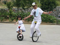 Shoulder-sports unicycle children's unicycle adult exercise bike 16 18 20-inch aluminum alloy ring
