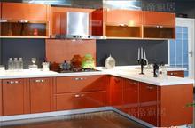 长沙品牌橱柜 欧派整体厨房 橱柜定做 钢琴烤漆实木柜体