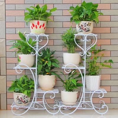 花架子多层室内特价家用阳台置物架铁艺客厅省空间花盆落地式绿萝