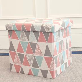 多功能收纳凳子储物凳可坐成人 折叠椅子家用沙发换鞋凳整理盒箱