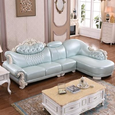欧式美式皮沙发转角旗舰店网址