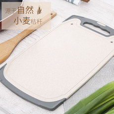 No moldy cutting plate plastic case board fruit wheat straw small slab small slab felt board occupies the plate thin