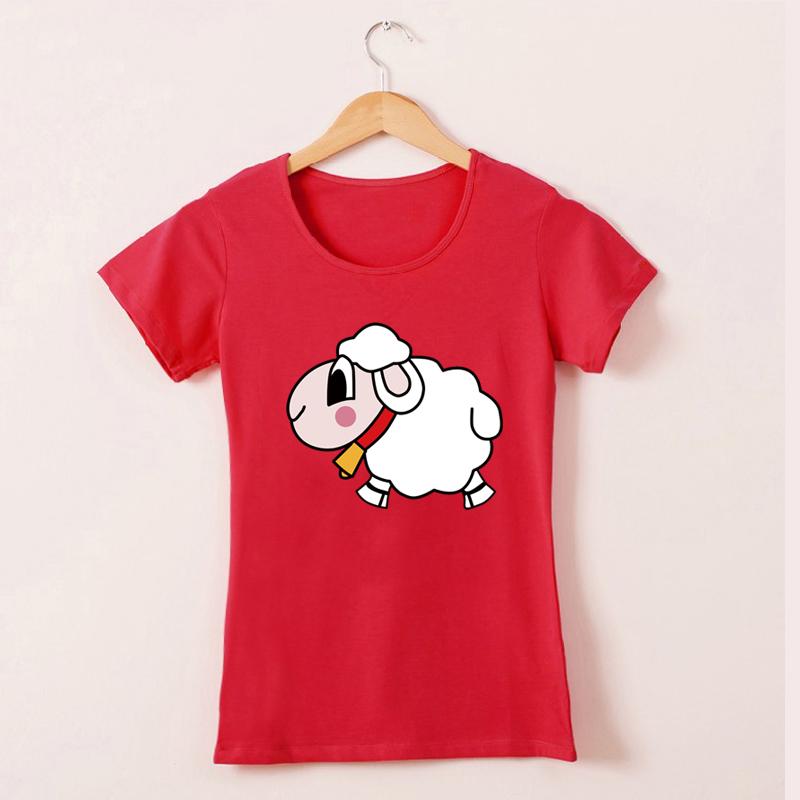 闺蜜羊T恤