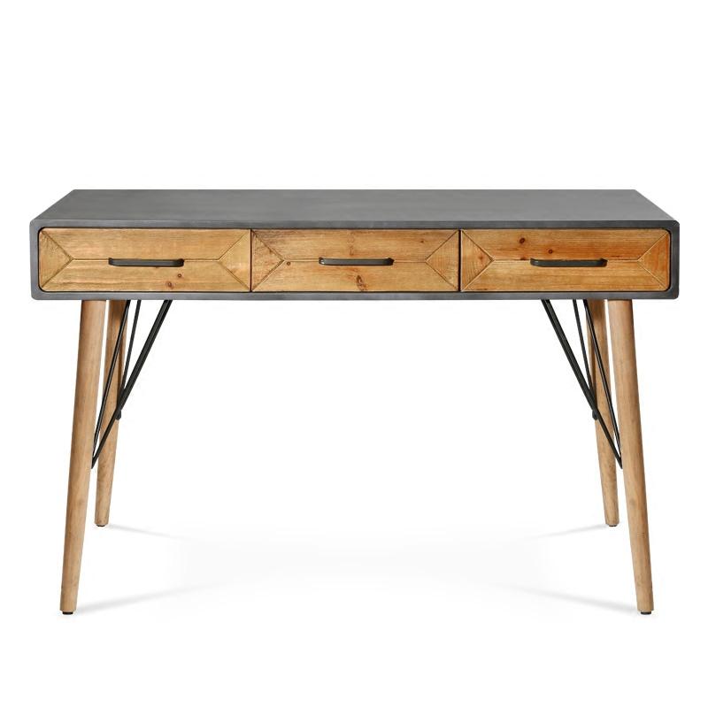 复古办公桌木质