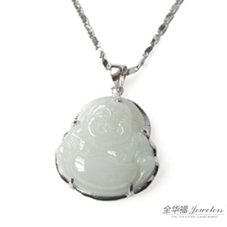 翡翠 銀鑲玉
