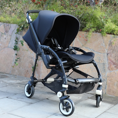 bugaboo bee3婴儿推车bee5宝宝童车可坐可躺轻便双向一体折叠伞车图片