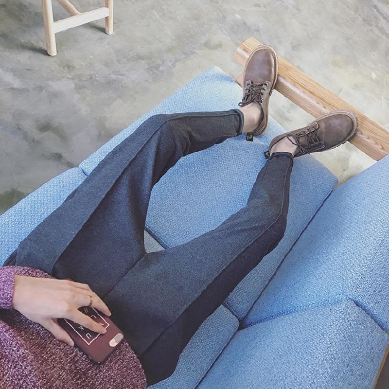 小脚微垮裤