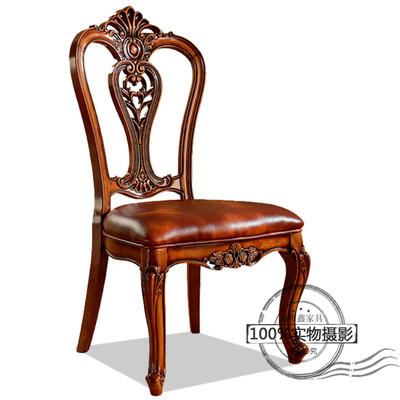 新古典实木餐椅真皮排行榜