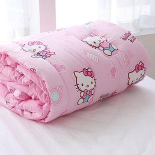 韩国代购Hello Kitty可爱卡通春秋被子单人棉被双人空调被夏凉被