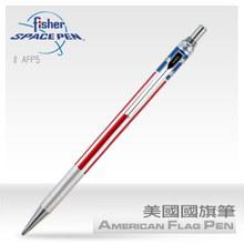 美国进口飞梭 Fisher Space Pen美国国旗太空笔 黑色圆珠笔