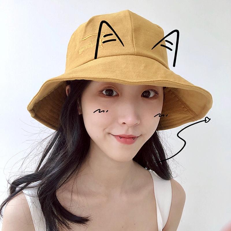 防晒遮脸帽
