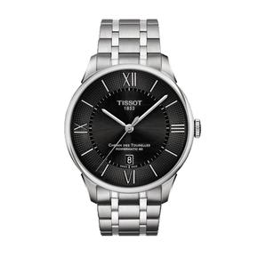 全国联保TISSOT1853-天梭杜鲁尔机械男手表T099.407.11.058.00