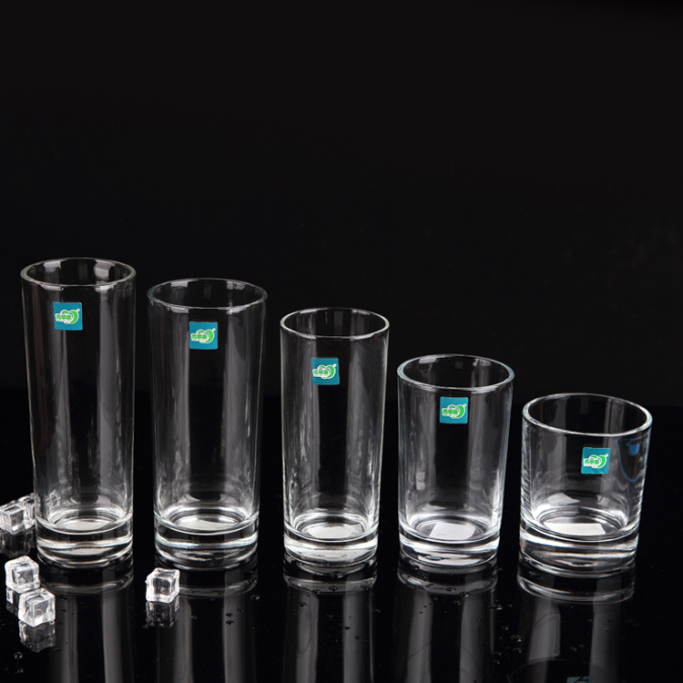 直筒玻璃杯透明水杯