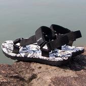 《一折扣》凉鞋男士夏新款2018韩版潮流休闲百搭海边度假沙滩鞋男